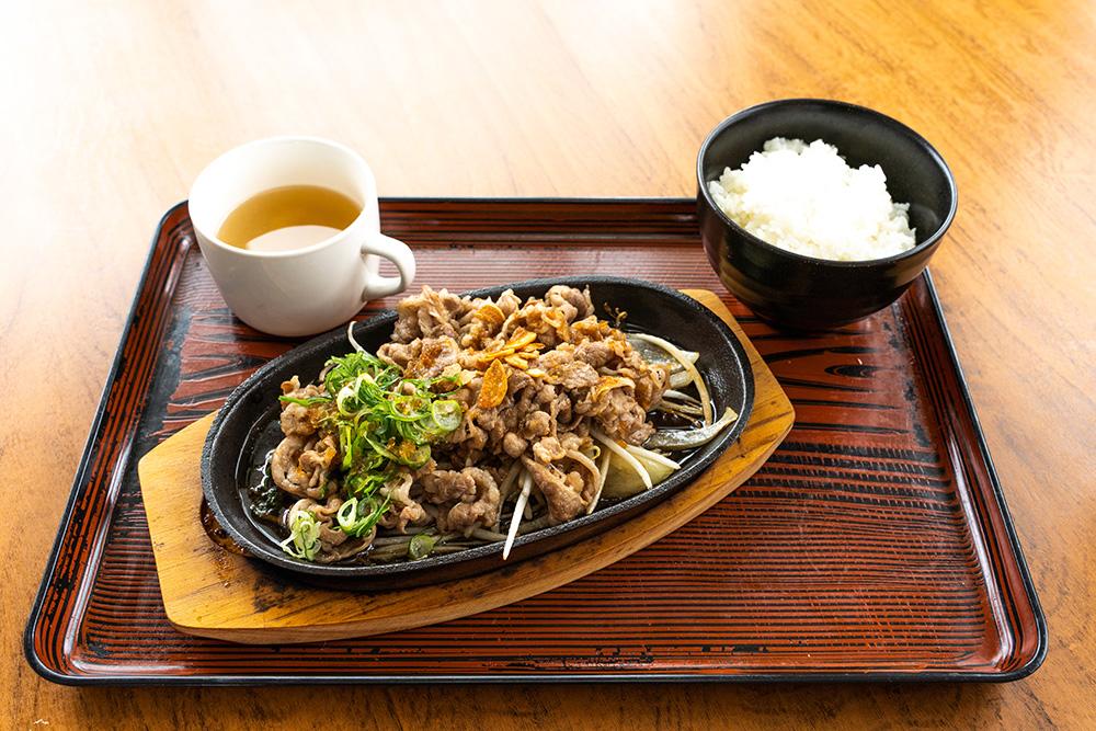 金武町の麺処千代の食事メニュー