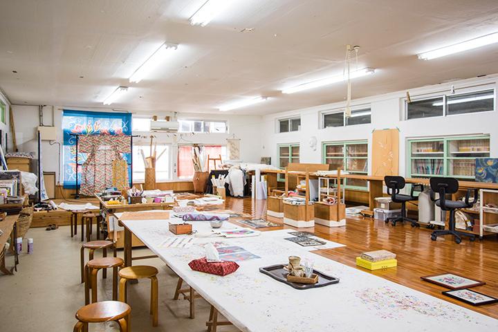 Bingata Dyeing Experience [Maeda Bingata Studio]