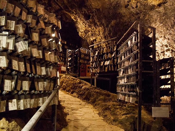 金武鐘乳石洞的酒窖