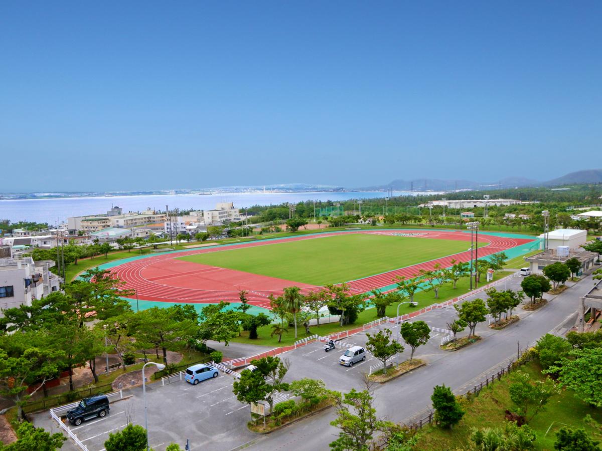 金武町田徑場